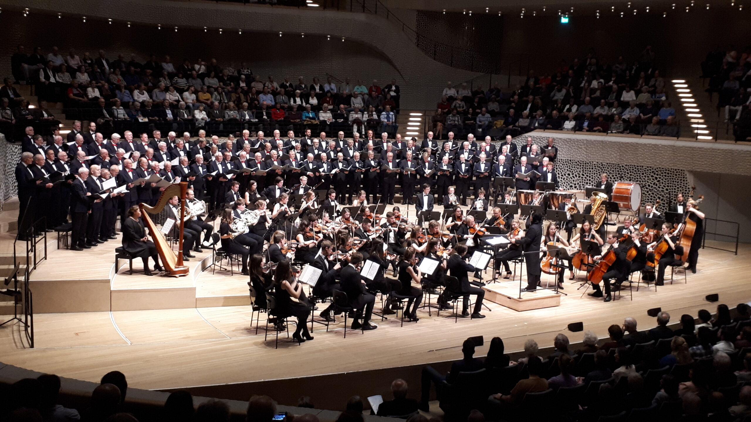 Konzert in der Elbphilharmonie am 23.10.2019